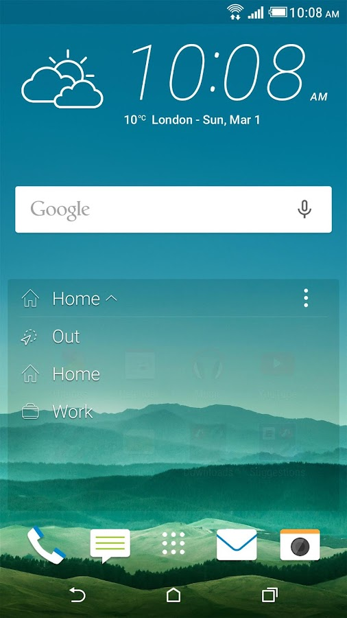 HTC Sense Home - screenshot