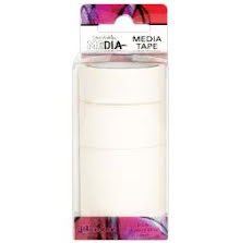 Dina Wakley Media Tape 3/Pkg - Blank