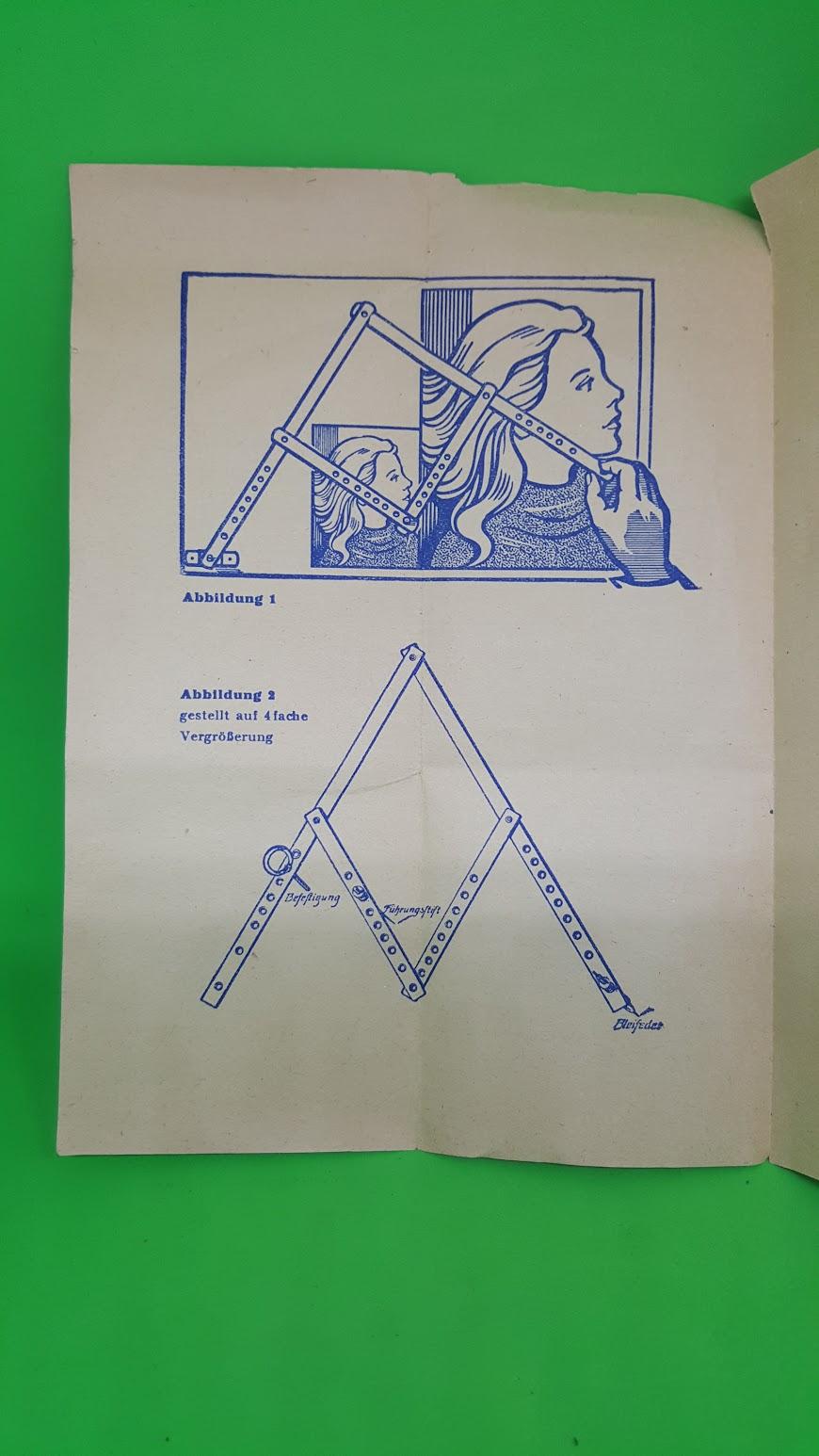 Dammann'scher Pantograph - Anleitung