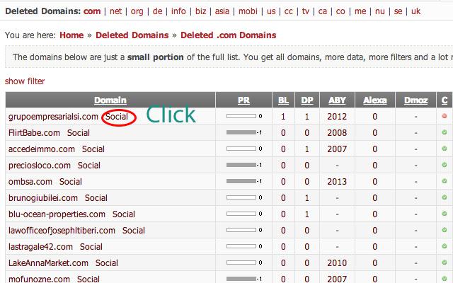Social Signals Information