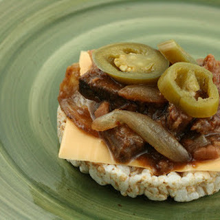 CrockPot Barbecue Beef and Bean Sandwiches Recipe