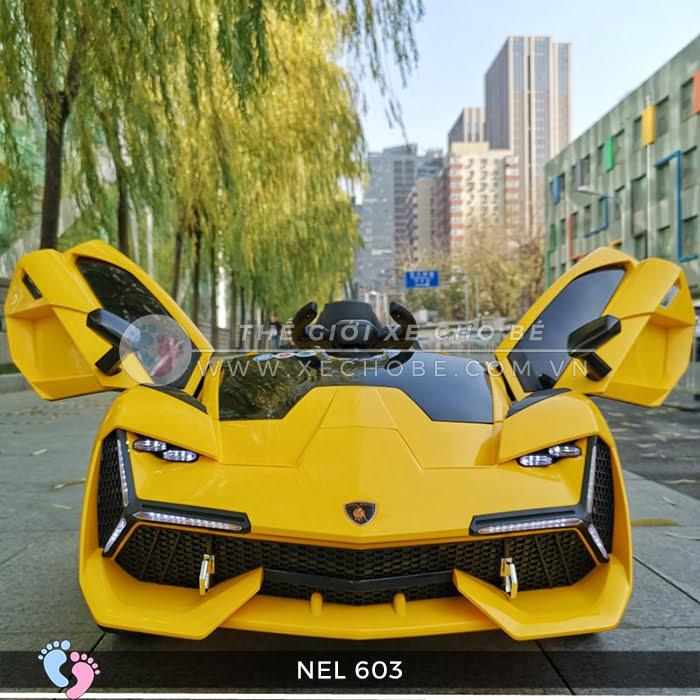 xe ô tô điện trẻ em Lamborghini NEL-603 18
