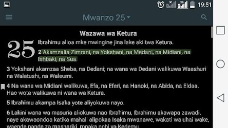 Biblia Takatifu – Swahili Bible APK Download – Free Books & Reference APP for Android 10