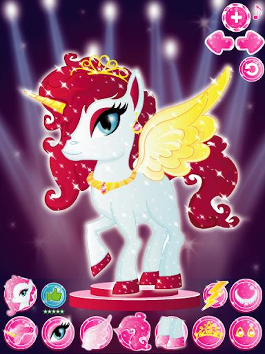 Baby Unicorn Pony Dress Up