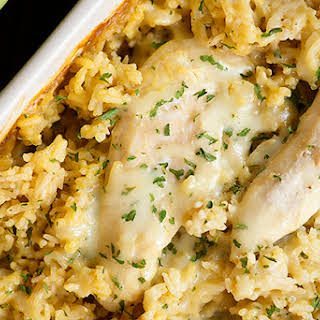 French Onion Chicken and Rice.