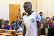Lesiba Motsai, 27, appearing in the  Mookgophong Magistrate's Court  for murdering his baby.