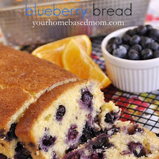 Orange Blueberry Bread