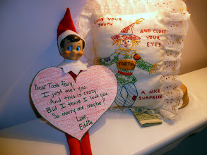 Photo: December 14 - proposing to the Tooth Fairy