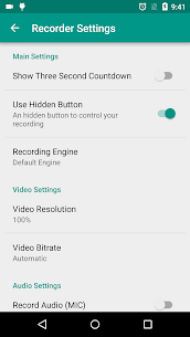 ADV Screen Recorder Mod Apk (Pro Features Unlocked) 7