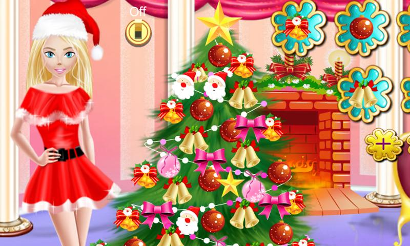 Princess Christmas Tree Decor- screenshot