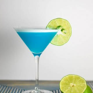 Lime Blue Lady.