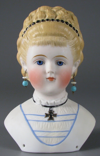 Doll head:Empress Augusta