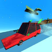 Stunt Car Cartoon Game