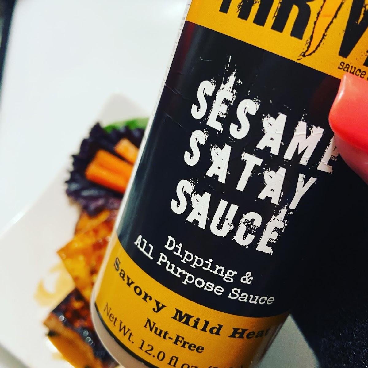 Thrive Sesame Satay Sauce