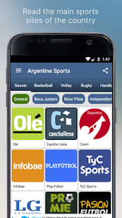 Argentine Sports- screenshot thumbnail