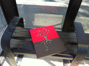 Photo: Longing Branches - Easter Egg 04/09/12 - Bus Stop in Denville, NJ