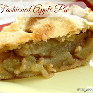 National Pie Day- Old Fashioned Apple Pie.