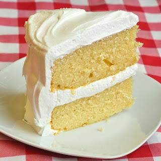 The Best Vanilla Cake.