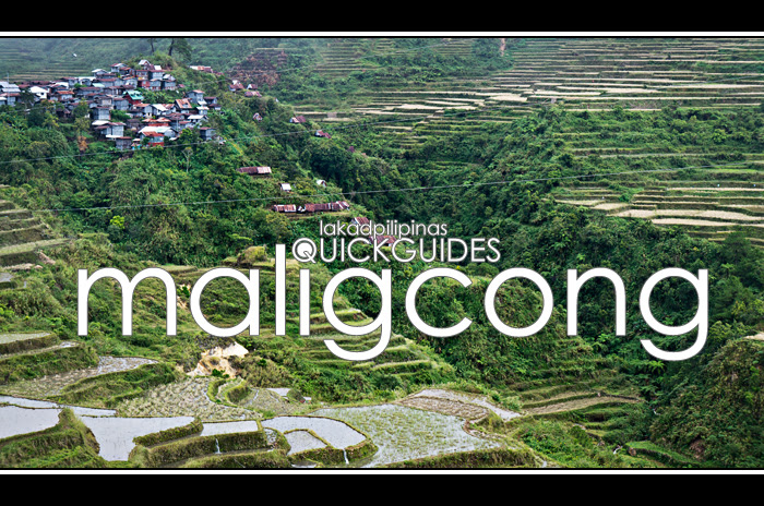 Maligcong Travel Guide and Itinerary