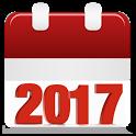 Calendar 2017 icon