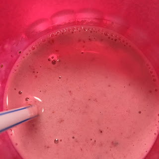 LVHS Strawberry Vanilla Smoothie .