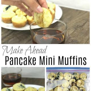 Make Ahead Pancake Mini Muffins.