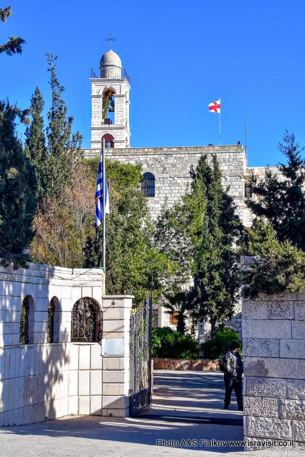Православный Монастырь Илии Пророка. Иерусалим.