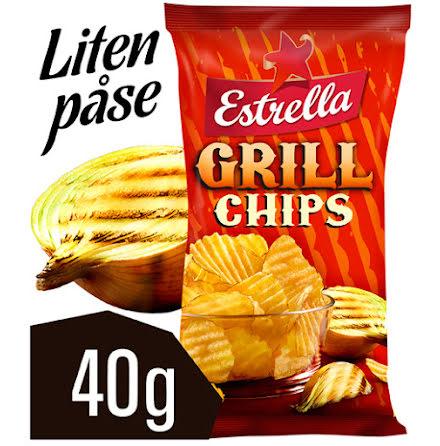 Chips grill Estrella 40g