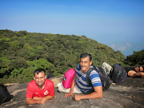 Photo: Worthy rest after the second steepest climb