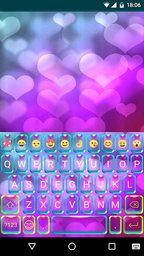 Rainbow Heart Theme Emoji Keyboard Wallpaper By Keyboard Themes Google Play United States Searchman App Data Information