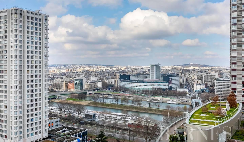 Appartement avec piscine Paris 15ème