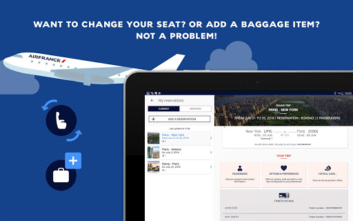 Air France - Airline tickets screenshot 10