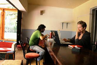 Photo: Nikos & Brittany in Karen Camp, Nairobi