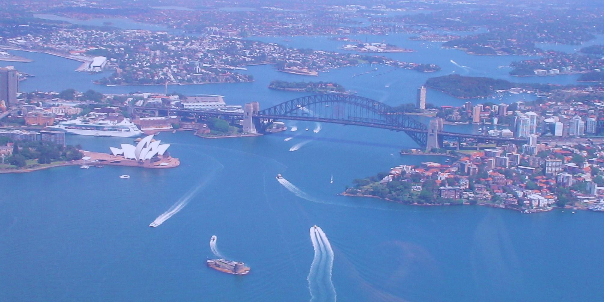 Photo: Rundflug über Sydney - einzigartig!