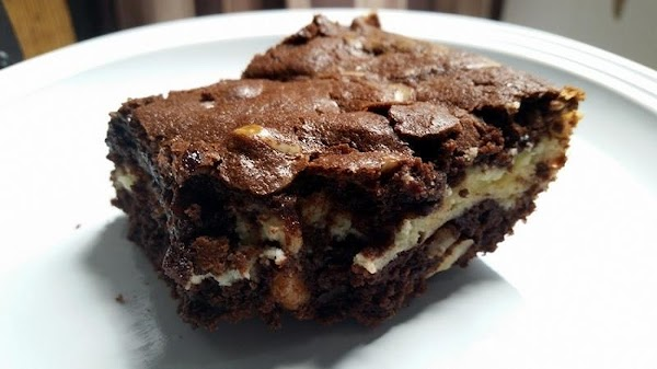 ~ Rich Decadent Cheesecake Brownies ~ Recipe