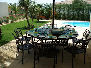 Photo: metal garden & patio furniture Metal 8 Seater Set http://www.outsideedgegardenfurniture.co.uk/Cast-Aluminium-and-Metal-Garden-Furniture/Tables-for-8/Round-8-Seater-Garden-Furniture-Set.html