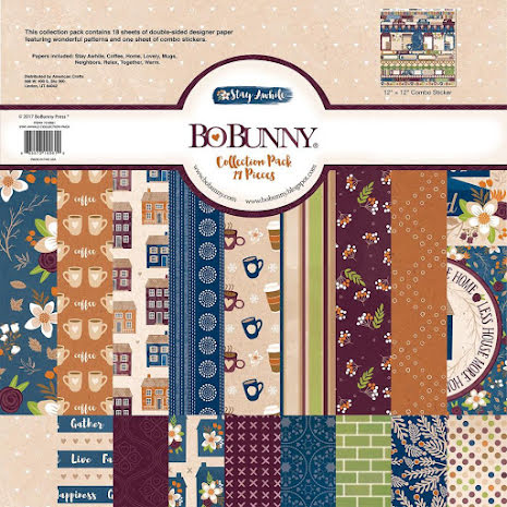 BoBunny Collection Pack 12X12 - Stay Awhile UTGÅENDE