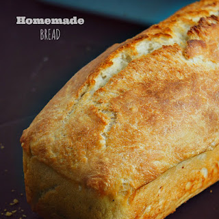 Homemade Bread Loaf.