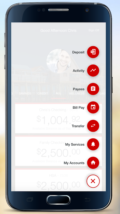 KeyBank Mobile- screenshot