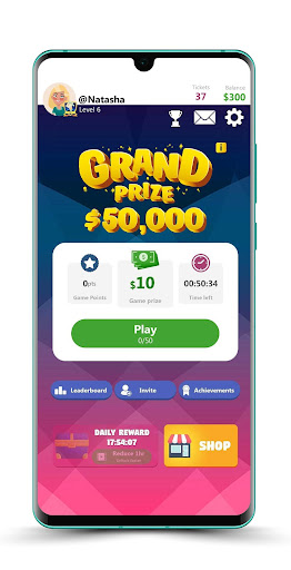 Play and Win - Win Cash Prizes! filehippodl screenshot 1
