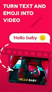turn text and emoji inti video using splicer mod apk