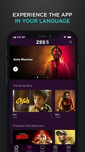 ZEE5 - Latest Movies, Originals & TV Shows Screenshot