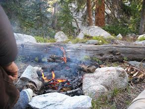 Photo: Campsite on Seneca Lake Trail