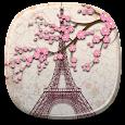 Romantic Paris Live Wallpaper Icon