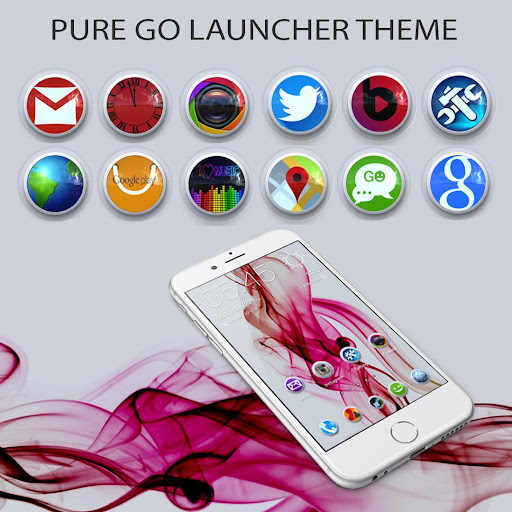 Pure Go Launcher Theme Tapjoy