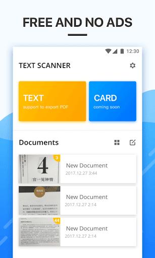 Text Scanner [OCR] Pro 2020 2.4.8 screenshots 1
