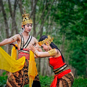Rama & Sintha by An'naas Sobrie Al Arif - People Couples ( model, couple, culture )