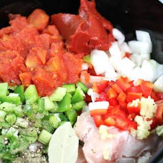 Italian Crock Pot Chicken.