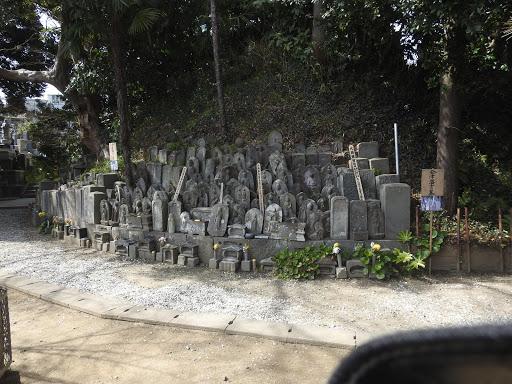 会津藩士の墓(能満寺)