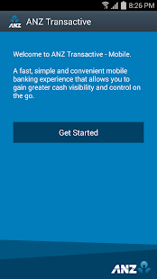 ANZ Transactive - screenshot thumbnail